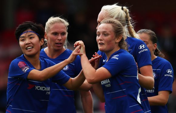 Chelsea Women vs Yeovil Town Ladies: Live stream, TV channel, kick-off time and team news for the Women's Super League clash