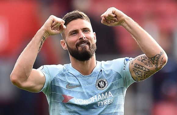Chelsea striker Olivier Giroud reveals he asked God if he should stay at Arsenal… and he said yes