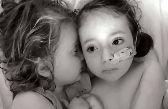 Six-year-old's brave battle with DEMENTIA disorder has saved younger sister, 3, from the same fate