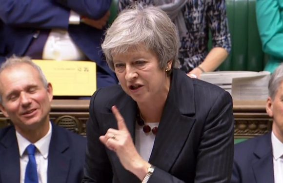 Theresa May says her Brexit deal is the ONLY way to avoid second referendum as she jets to Brussels for crunch talks