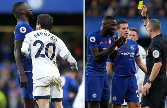 Chelsea star Antonio Rudiger: 'I got booked for being head-butted'