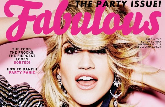 Tearing up the dancefloor every Saturday night, Ashley Roberts is this week's Fabulous cover star