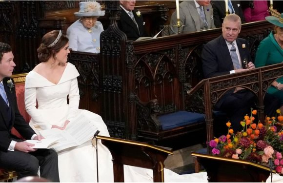 The Moment That Made Sarah Ferguson Cry at Daughter Princess Eugenie's Wedding