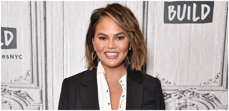 Chrissy Teigen Flaunts Serious Cleavage During Family Outing In NYC