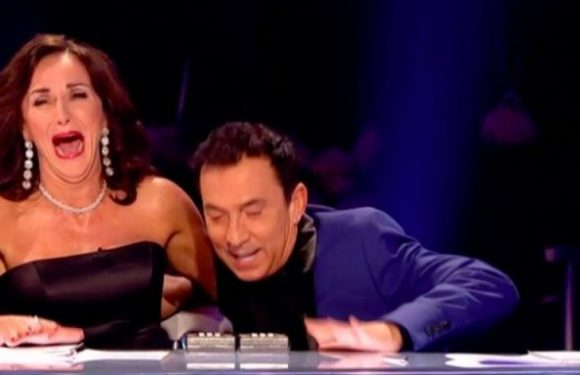 Strictly Come Dancing's Bruno Tonioli takes another tumble off his chair