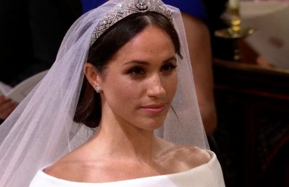 Queen Elizabeth Wouldn't Let Meghan Markle Have Her First Choice for a Wedding Tiara: Report