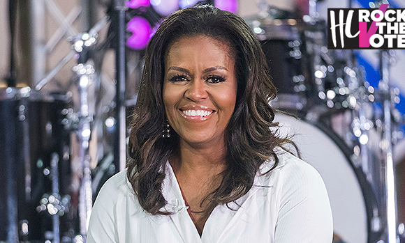 Michelle Obama: Please Get Your Whole Squad To Vote — Don't Let Others Decide Your Future