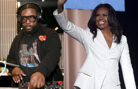 Questlove curated a massive playlist for Michelle Obama's book tour
