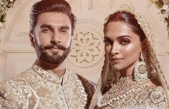 The first photos from the Deepika Padukone and Ranveer Singh wedding reception