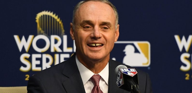 MLB owners to vote next week on commissioner Rob Manfred's future