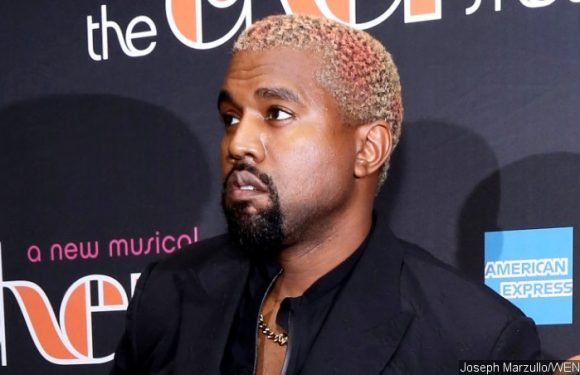Kanye West Caught on Camera 'Stealing' Jewelry From Versace Fashion Show