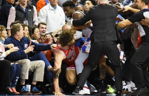 Bulls coach in middle of brawl —and couldn't be prouder