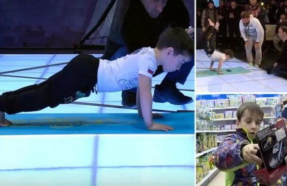 Press-up world record broken by five-year-old boy