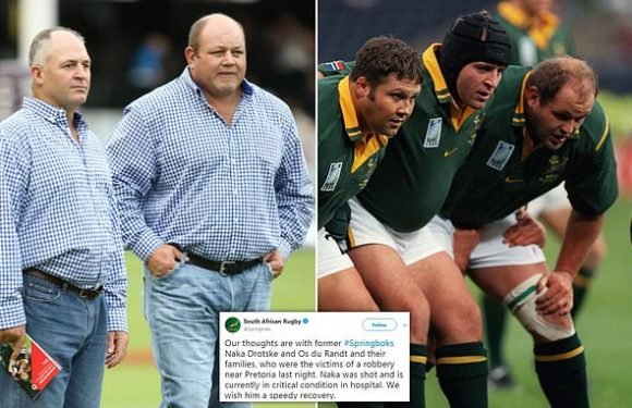 Ex-South Africa star Naka Drotske stable after being shot THREE times