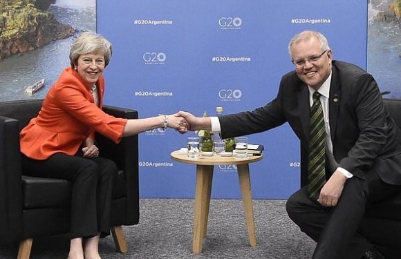 Australian PM praises Theresa May's 'resilience' on Brexit at G20