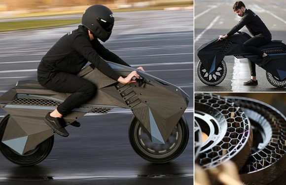 World's first 3D printed motorcycle unveiled by German engineers