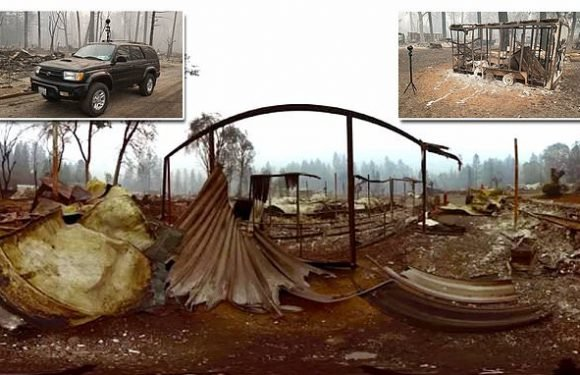 Interactive video shows the shocking remains of Camp Fire