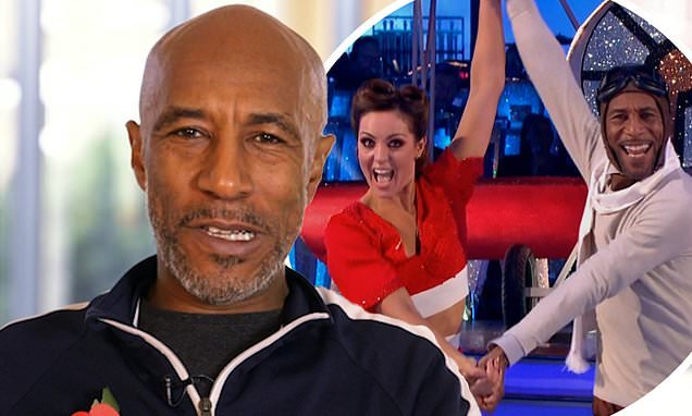 Strictly's Danny John-Jules 'reignites feud with Amy at rehearsals'