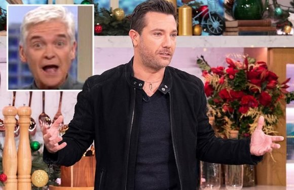 Gino D'Acampo leaves This Morning viewers in hysterics as he mispronounces lesbian