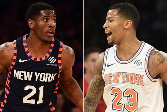 How Knicks pair is working together to fix shooting slumps