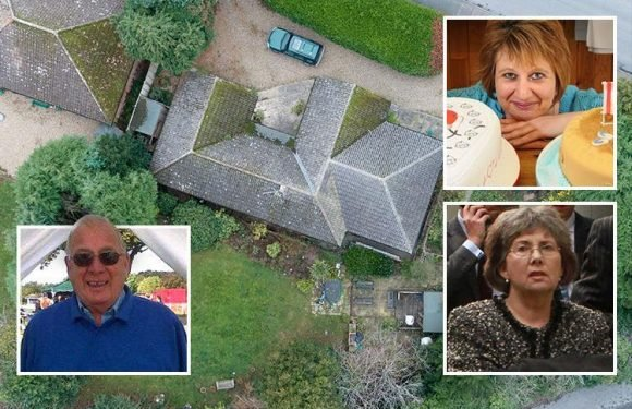 Grieving daughter buries dad in back garden but refuses to tell her sister where