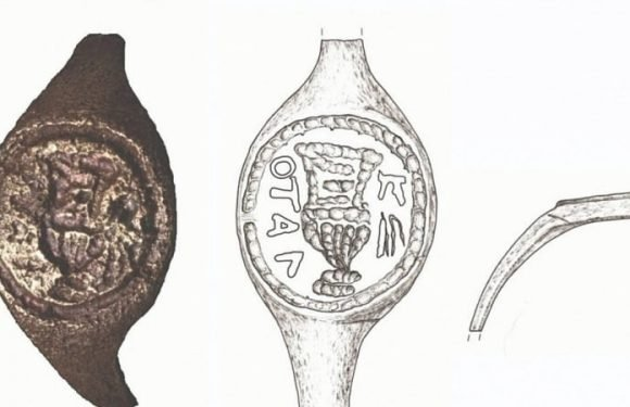 2000-year-old ring may have been owned by Pontius Pilate, say experts