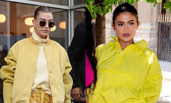 Hailey Baldwin Vs. The KarJenner Sisters: Who Makes Wearing Yellow Tracksuits Look Sexier?