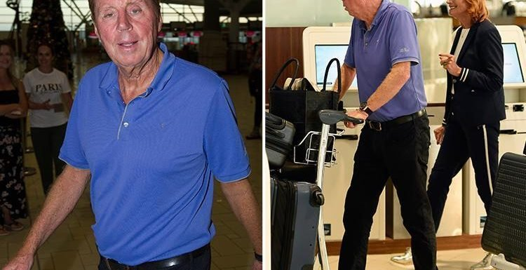 Harry Redknapp shows off dramatic one-stone weight loss as he heads back to the UK