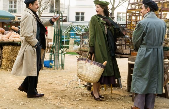 'Mrs. Maisel' cast went to Disneyland while filming in Paris