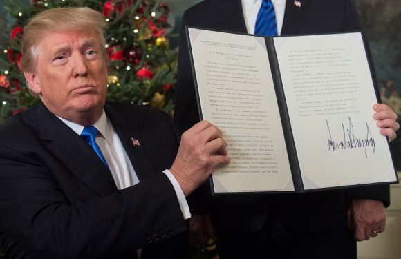 A year after Trump's Jerusalem declaration, it's clear he means business