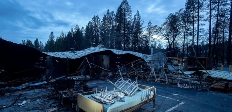 Residents of California town leveled by fire can go home