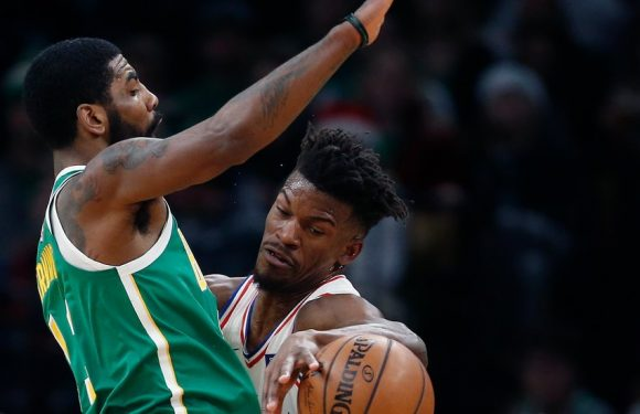 Kyrie Irving Forces Overtime and Then Decides It as Celtics Top 76ers