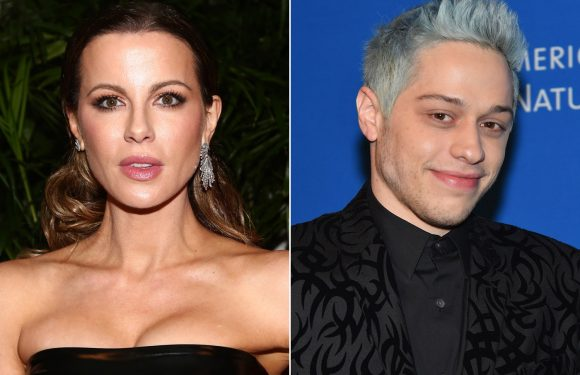 Kate Beckinsale leaves Golden Globes party with Pete Davidson