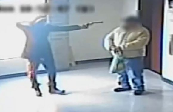 Video shows thug holding up elderly man at gunpoint in Bronx