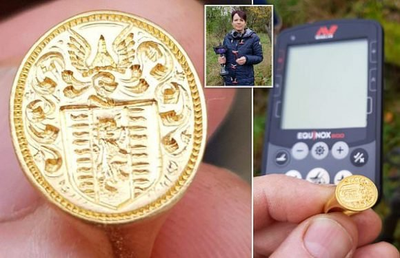 Amateur metal detectorist unearths 350-year-old ring