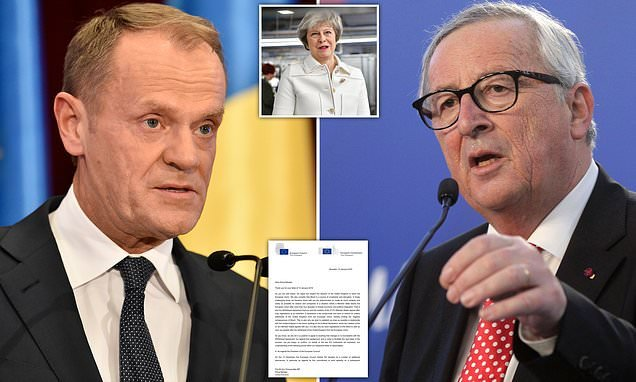 EU letter promises temporary backstop but won't change Brexit deal