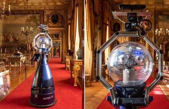 Blenheim Palace is experimenting with ROBOT tour guide