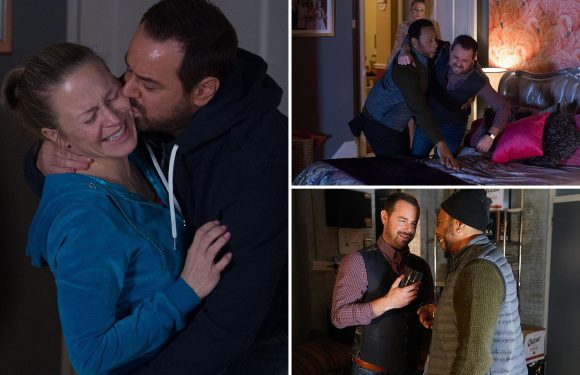 EastEnders spoilers: Mick Carter turns to booze to cope with prison trauma