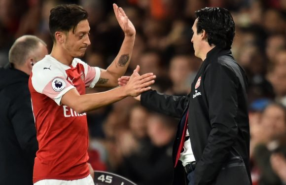 Emery hints that Ozil row is just his way of getting best of outcast Arsenal star