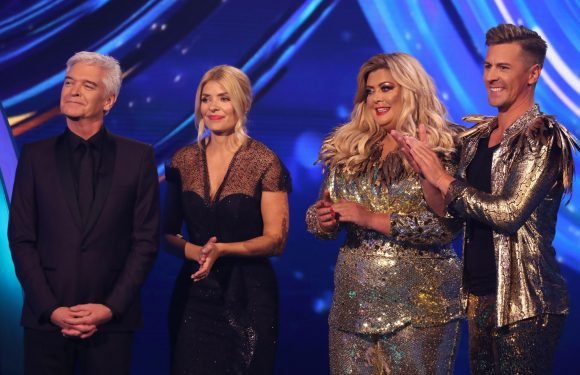 Is Gemma Collins injured after her Dancing on Ice fall, what happened between her and Holly Willoughby is she a favourite to win?
