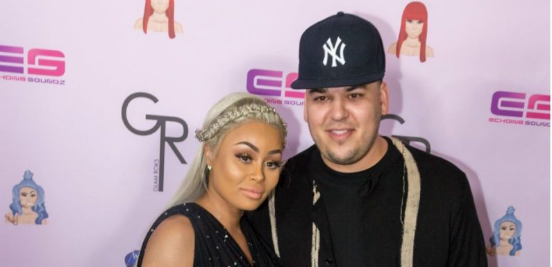 Rob Kardashian And Blac Chyna Reportedly Have No Relationship, Only Communicate Through An Intermediary