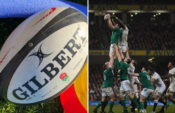 England practice with soapy rugby balls in prep for Ireland Six Nations opener