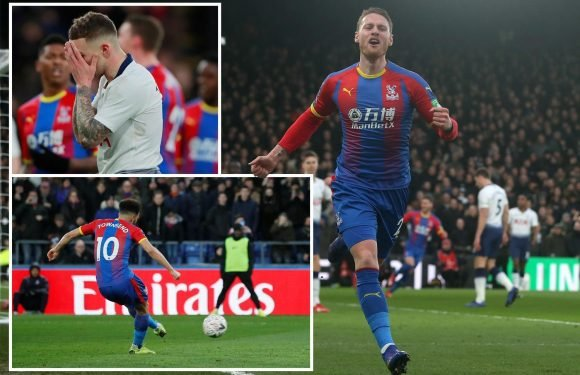Tottenham crash out of FA Cup with another trophyless season in sight after Crystal Palace defeat