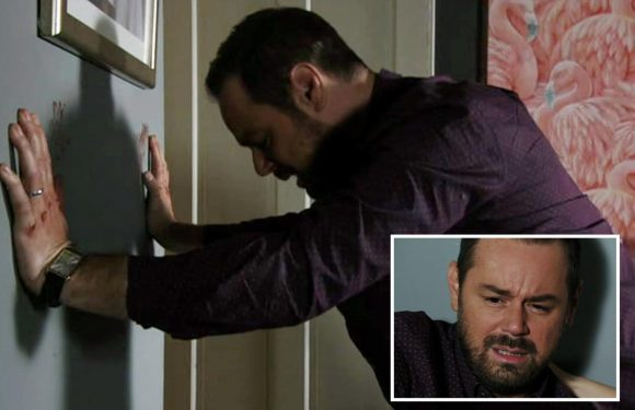 EastEnders' viewers in shock as Mick Carter self harms after he struggles with his mental health