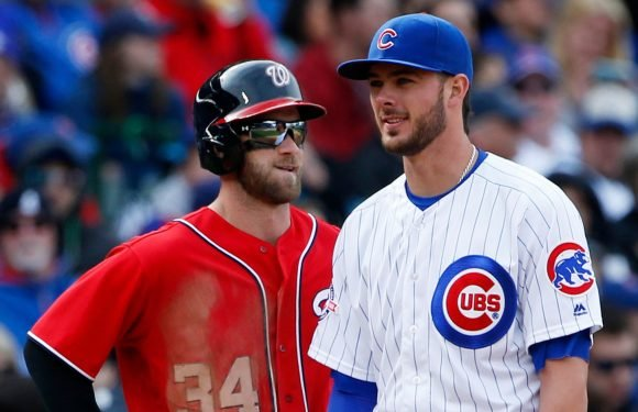 Bryce Harper's New Year's double date fuels Cubs rumors