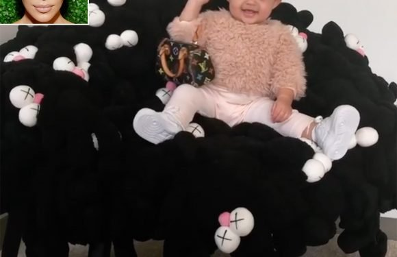 Kim Kardashian Bought Louis Vuitton Bags for All the 'Baby Girls' in the Family