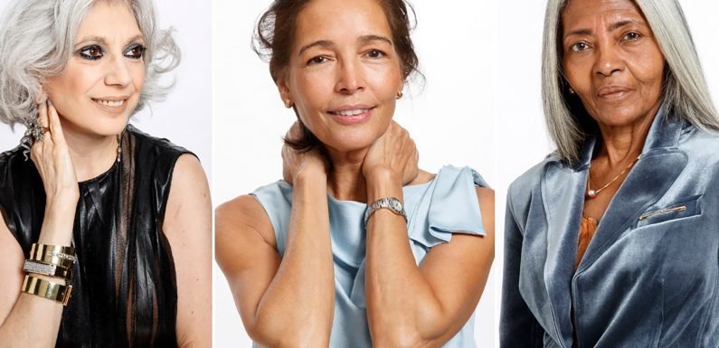 Stunning over-50 models share secrets for aging beautifully
