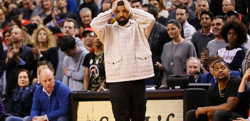 Drake tries to get out in front of 'curse' by supporting every NFL playoff team