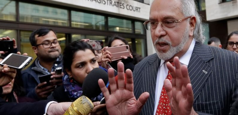 India declares tycoon Mallya a 'fugitive economic offender'