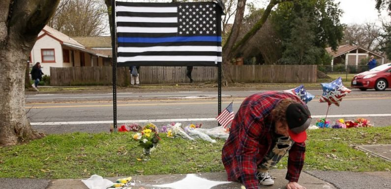Authorities name man who killed rookie California officer